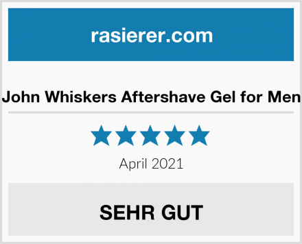John Whiskers Aftershave Gel for Men Test