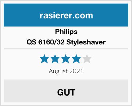 Philips QS 6160/32 Styleshaver Test