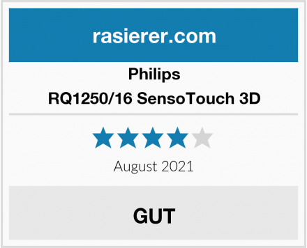 Philips RQ1250/16 SensoTouch 3D Test