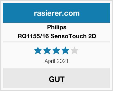 Philips RQ1155/16 SensoTouch 2D Test