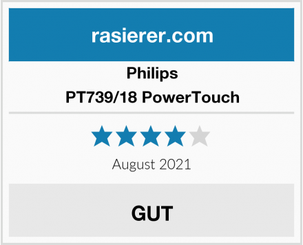 Philips PT739/18 PowerTouch Test