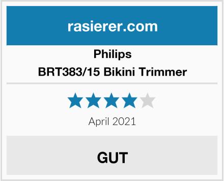 Philips BRT383/15 Bikini Trimmer Test