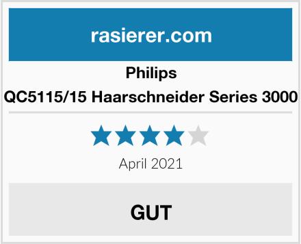 Philips QC5115/15 Haarschneider Series 3000 Test
