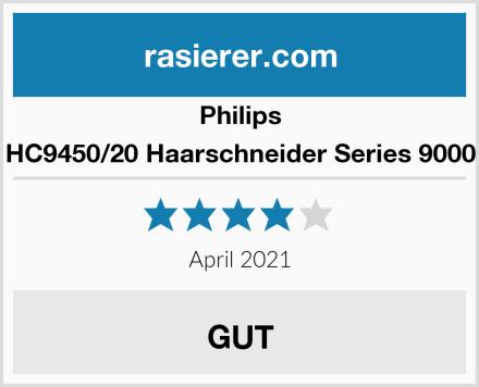 Philips HC9450/20 Haarschneider Series 9000 Test