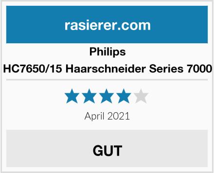 Philips HC7650/15 Haarschneider Series 7000 Test