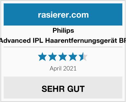 Philips Lumea Advanced IPL Haarentfernungsgerät BRI921/00 Test