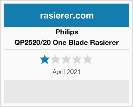 Philips QP2520/20 One Blade Rasierer Test