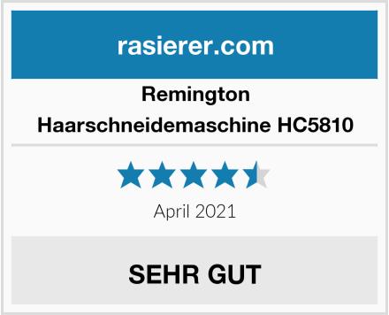 Remington Haarschneidemaschine HC5810 Test
