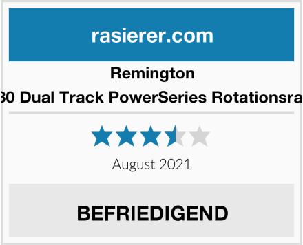 Remington PR1230 Dual Track PowerSeries Rotationsrasierer Test