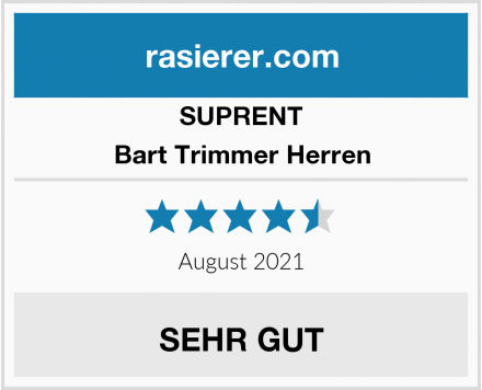 SUPRENT Bart Trimmer Herren Test