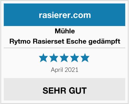 MÜHLE Rytmo Rasierset Esche gedämpft Test