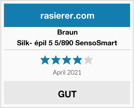 Braun Silk- épil 5 5/890 SensoSmart Test