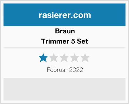 Braun Trimmer 5 Set Test