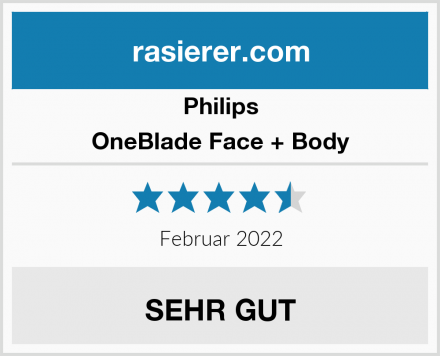Philips OneBlade Face + Body Test