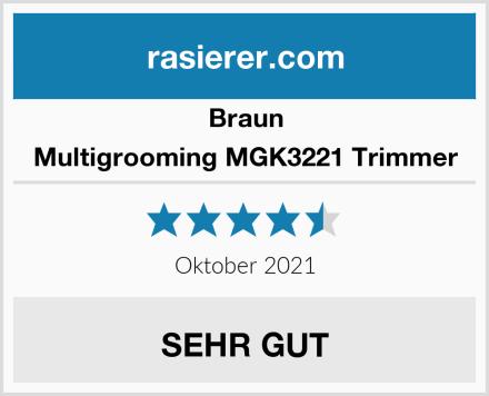 Braun Multigrooming MGK3221 Trimmer Test