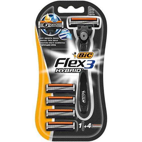BIC Flex 3 Hybrid Rasierer Set