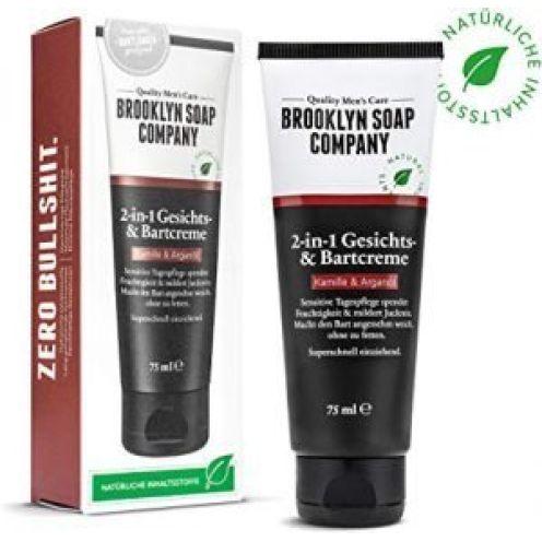 Brooklyn Soap Company Bartcreme & Gesichtscreme (75 ml)